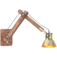 Maison & Déco Appliques Vidaxl Lampe murale Jaune