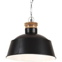 Maison & Déco Lustres, suspensions et plafonniers Vidaxl Lampe suspendue Φ 32 cm Noir