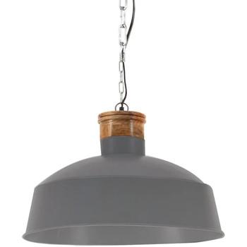 Maison & Déco Lustres, suspensions et plafonniers Vidaxl Lampe suspendue Φ 58 cm Gris