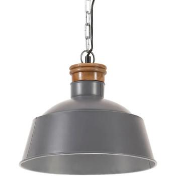 Maison & Déco Lustres, suspensions et plafonniers Vidaxl Lampe suspendue Φ 32 cm Gris