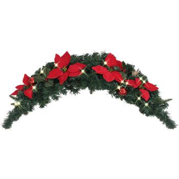 Maison & Déco Décorations festives Vidaxl Arche de Noël Vert