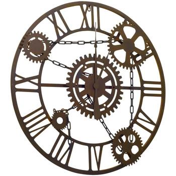 Maison & Déco Horloges Vidaxl Horloge murale Brun