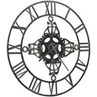 Maison & Déco Horloges Vidaxl Horloge murale Argent
