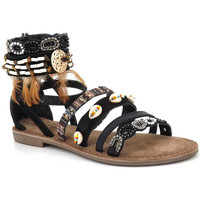 Chaussures Femme Sandales et Nu-pieds Metamorf'Ose Jairo Noir
