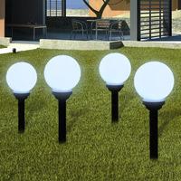 Maison & Déco Luminaires d'extérieur Vidaxl Eclairage exterieur 15 cm Blanc