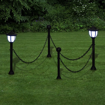 Maison & Déco Luminaires d'extérieur Vidaxl Eclairage exterieur Gris