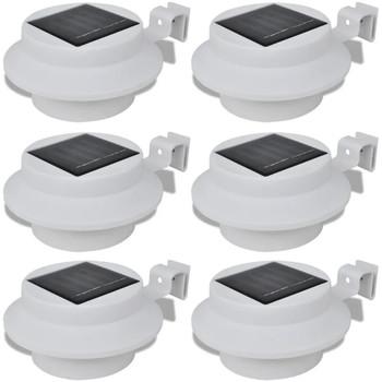 Maison & Déco Luminaires d'extérieur Vidaxl Lampe solaire Blanc