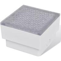 Maison & Déco Luminaires d'extérieur Vidaxl Eclairage exterieur 100 x 100 x 68 mm Blanc
