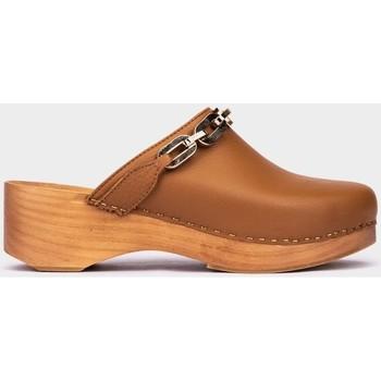 Chaussures Femme Sabots Pedro Miralles Finisterre Marron