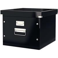 Maison & Déco Paniers, boites et corbeilles Leitz Boîte à fichiers Noir