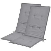 Maison & Déco Coussins VidaXL Coussin de chaise 120 x 50 x 4 cm Gris