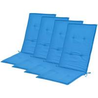 Maison & Déco Coussins VidaXL Coussin de chaise 120 x 50 x 4 cm Bleu