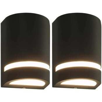 Maison & Déco Luminaires d'extérieur Vidaxl Lampe murale 75 x 95 x 150 mm Noir