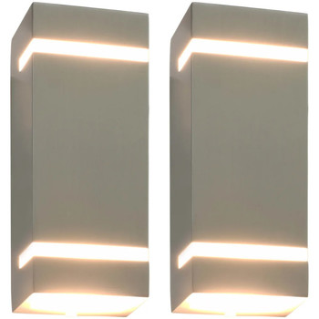 Maison & Déco Luminaires d'extérieur Vidaxl Lampe murale 75 x 95 x 238 mm Argent