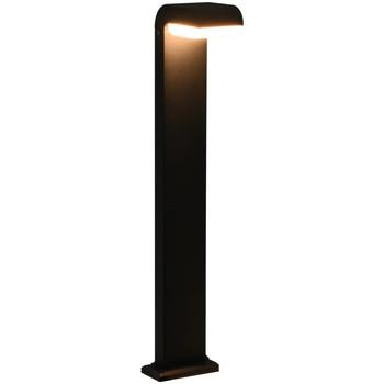 Maison & Déco Luminaires d'extérieur Vidaxl 16 x 10 x 80 cm Noir