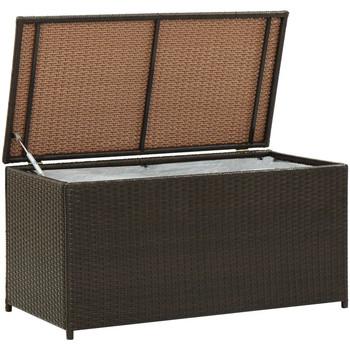 Maison & Déco Malles, coffres de rangements Vidaxl Boîte de rangement de jardin 100 x 50 x 50 cm Brun