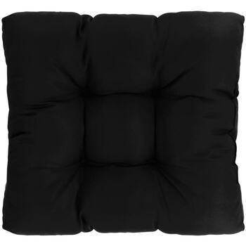 Parures de lit Coussins Vidaxl 60 x 60 x 12 cm Noir