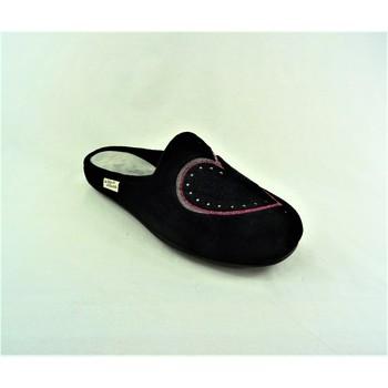Chaussures Femme Chaussons La Maison De L'espadrille 9003-2 noir