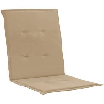 Maison & Déco Coussins VidaXL Coussin de chaise 100 x 50 x 4 cm Beige