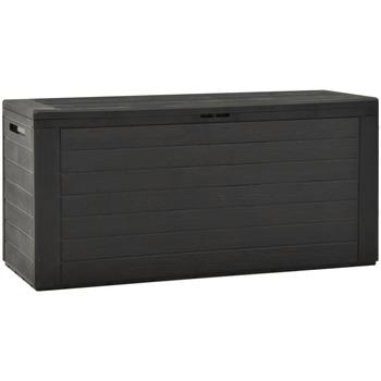 Maison & Déco Paniers, boites et corbeilles Vidaxl Boîte de rangement d'extérieur 116 x 44 x 55 cm Anthracite