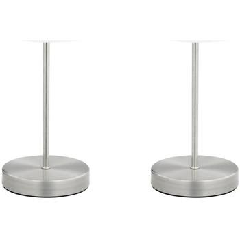 Maison & Déco Lampes à poser Vidaxl Lampe de table Blanc
