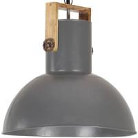Maison & Déco Lustres, suspensions et plafonniers Vidaxl Lampe suspendue 52 cm Gris