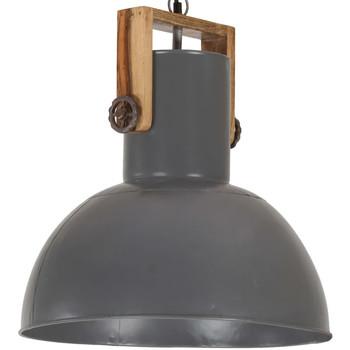 Maison & Déco Lustres, suspensions et plafonniers Vidaxl Lampe suspendue 42 cm Gris