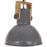 Maison & Déco Lustres, suspensions et plafonniers Vidaxl Lampe suspendue 32 cm Gris