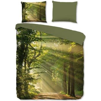 Maison & Déco Housses de couettes Good Morning Housse de couette 140 x 220 cm Vert