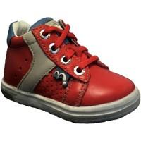 Chaussures Garçon Baskets montantes Noel Mini Mino Rouge