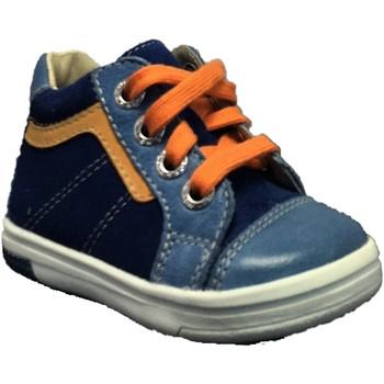 Chaussures Garçon Baskets montantes Noel Mini Max Bleu