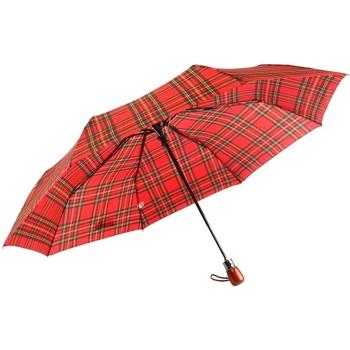Accessoires textile Parapluies Léon Montane Parapluie Automatique Rouge et Noir Fantaisie Rouge