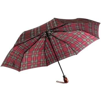 Accessoires textile Parapluies Léon Montane Parapluie Automatique Rouge Bordeaux et Vert Fantaisie Rouge