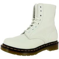 Chaussures Femme Bottines Dr Martens pascal blanc