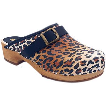 Chaussures Femme Sabots My Clogs MY6432 Leopard