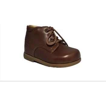 Chaussures Enfant Boots Pom d'Api Nioupy Derby Cyclone Marron