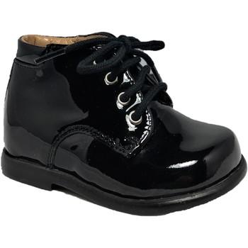 Chaussures Enfant Boots Pom d'Api Nioupy Derby Vernis Noir vernis
