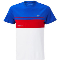 Vêtements Homme T-shirts & Polos Lacoste Tee-shirt Bleu