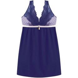 Vêtements Femme Pyjamas / Chemises de nuit Pommpoire Nuisette marine ADN Bleu