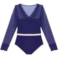 Sous-vêtements Femme Bodys Pommpoire Bodytanga marine ADN Bleu