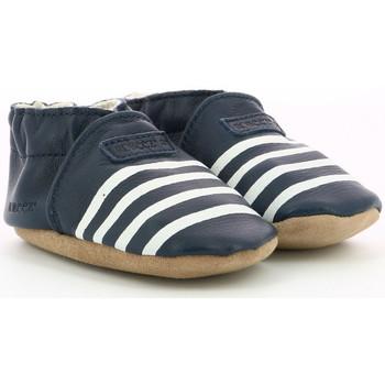 Chaussures Garçon Chaussons bébés Robeez Smart Sailor MARINE