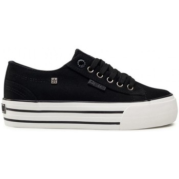 Chaussures Femme Baskets basses Big Star HH274056 Blanc, Noir