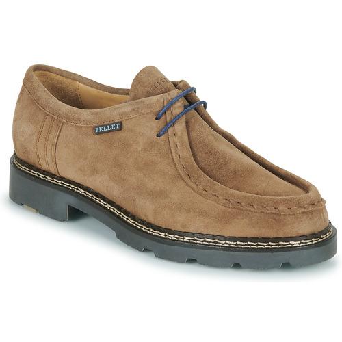 Chaussures Homme Derbies Pellet MACHO Beige