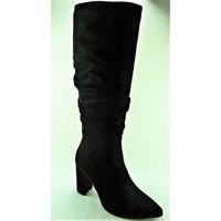 Chaussures Femme Bottes Ideal Shoes E9304NOIR noir