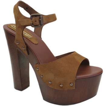 Chaussures Femme Sandales et Nu-pieds Gioie Italiane G703 Taupe