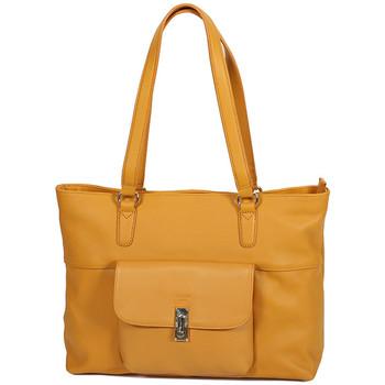 Sacs Femme Cabas / Sacs shopping Katana Sac Shopping En Cuir De Vachette Souple 89704 Gold