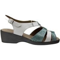 Chaussures Femme Sandales et Nu-pieds Gasymar 4572 Blanco