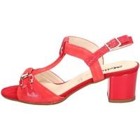 Chaussures Femme Sandales et Nu-pieds Melluso HK35067 ROUGE