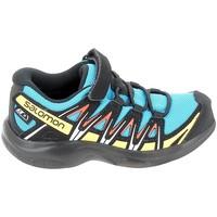 Chaussures Baskets basses Salomon Xa Pro 3D CSWP C Bleu Noir Bleu