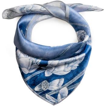 Accessoires textile Femme Echarpes / Etoles / Foulards Allée Du Foulard Carré de soie Piccolo Alias Bleu